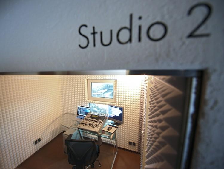 Blick ins Studio 2