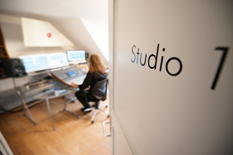Blick ins Studio 1