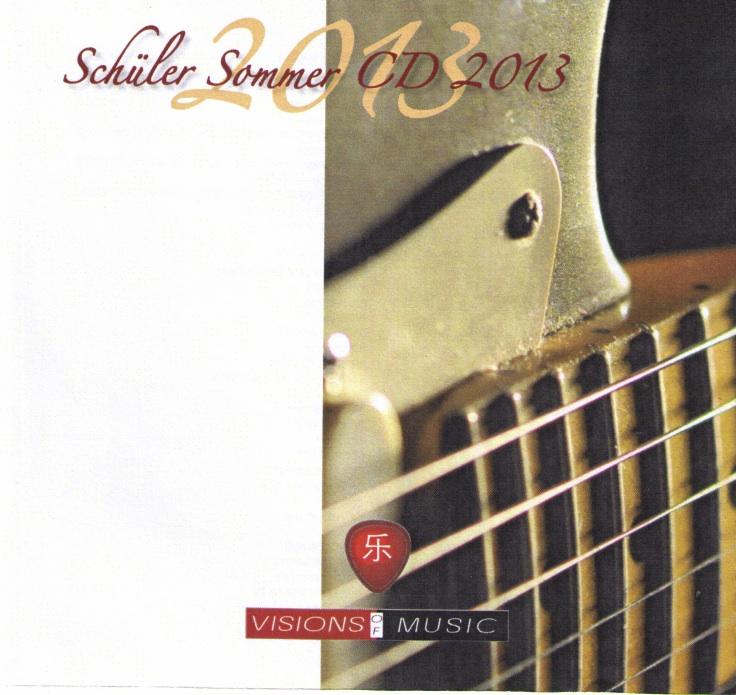 Schüler CD 2013 Cover