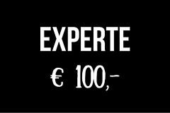 Gutschein für Experten - 100 Euro